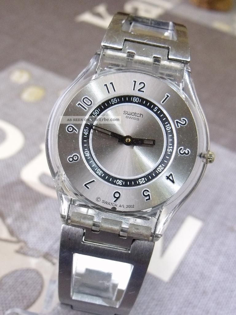 superflache swatch skin unisex armbanduhr einer der. Black Bedroom Furniture Sets. Home Design Ideas