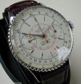 Breitling Chronomat Sehr Gut Erhalten,  Ref 769 Flieger - Klassiker V 1965 Bildschön Bild