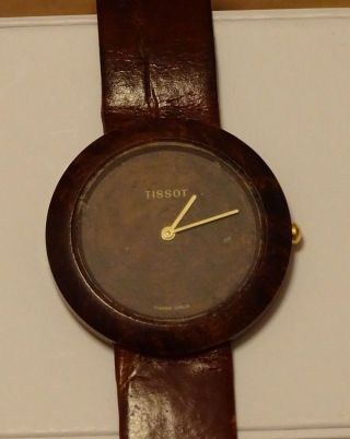 Tissot Woodwatch Armbanduhr Bild