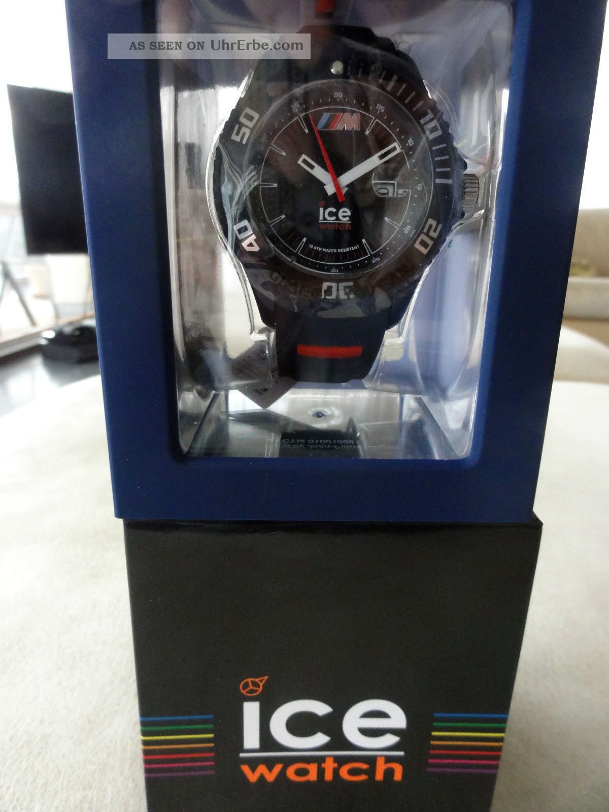 exklusive ice watch bmw m edition uhr bmw driving. Black Bedroom Furniture Sets. Home Design Ideas