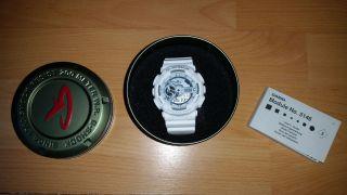 Casio G - Shock Ga - 110c - 7aer Armbanduhr Für Herren In Weiss Mit Ovp Bild