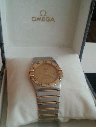 Omega Constellation Stahl/gold Bild