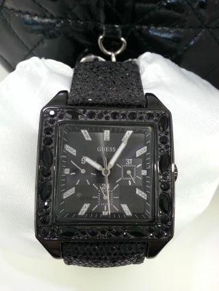 Guess Uhr W0049l2 Damenuhr Verpackung - Mit Schutzfolie Auf Glas Bild