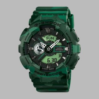 Casio Uhr Watch G - Shock Ga - 110cm - 3aer Camouflage Serie Green Bild