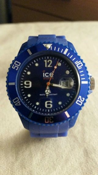 Ice Watch Big Blue (blau) Armbanduhr Bild