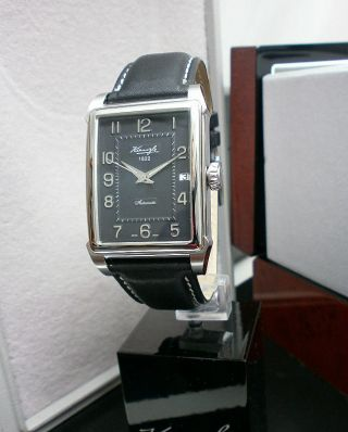 Kienzle Herrenuhr Swiss Automatik Eta 2824 Leder Armband 5 Barw.  R. Bild