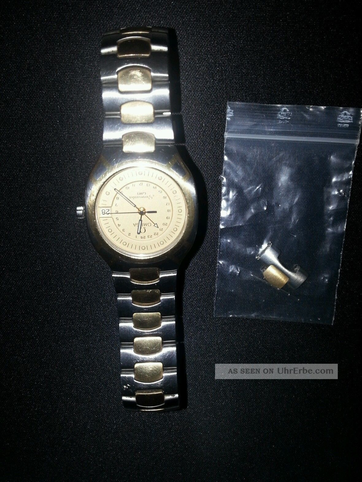 Omega Seamaster Gmt Stahl/gold Armbanduhren Bild
