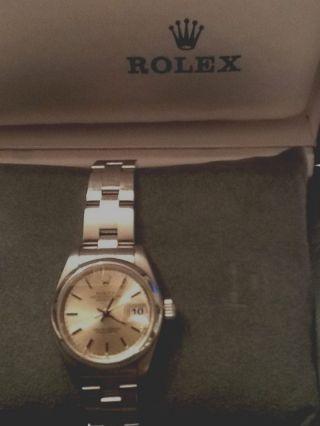 Rolex Oyster Perpetual Date D Armbanduhr (115200) Bild
