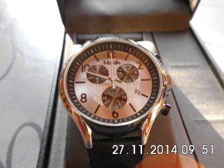 Misaki Chrono Armbanduhr Schwarz Qcrwbeta - L,  24mon. Bild