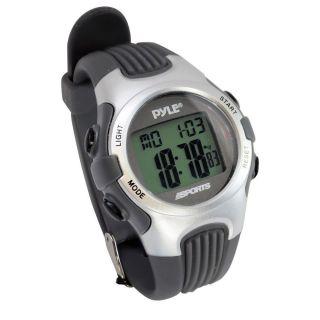 Pyle Sport Uhr Alarm Gymaster Fitness Schrittmacher Chronograph Wasserfest 50m Bild