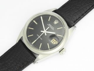 Rolex Oysterdate Ref.  6694 Precision Steel Black 1967 Bild