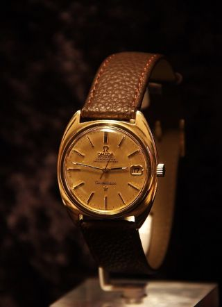 Omega Constellation,  Chronometer,  Automatik,  Herrenarmbanduhr,  Top Bild