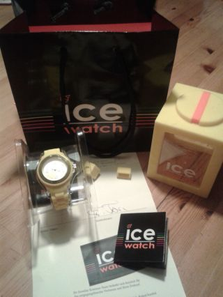 Ice Watch Damen Gelb Yellow Small Bild