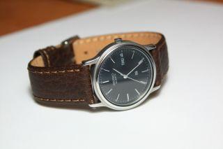 Vintage Herrenarmbanduhr Seiko Sq 5y23 Datum/tag,  Engl/deutsch Anzeige Bild