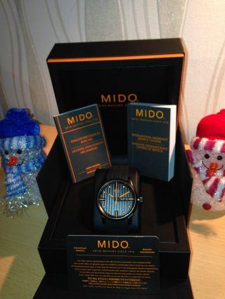 Mido Multifort Black - Orange Bild
