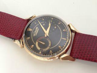 Lecoultre Futurematic - Armbanduhr Vergoldet (jaeger,  Jlc) - Topzustand Bild