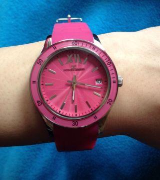 Jacques Lemans Uhr Pink Bild