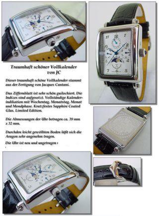 Avignon Jacques Cantani Multi - Funktion Uhr RaritÄt Echtes Mond Phase Bild