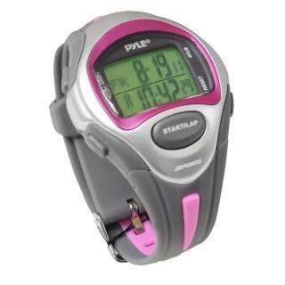 Pyle Sport Uhr Marathonlauf Für Damen Alarm Kalender Chronograph Wasserfest 50m Bild