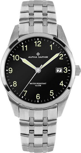 Alpha Saphir Herren Uhr 379e Bild