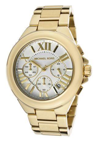Michael Kors Mk5635 Armbanduhr Damenuhr Edelstahl Gold Ovp Bild