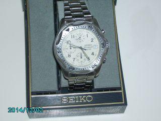 Seiko Chronograph Sq 100 Cal.  V567 Bild