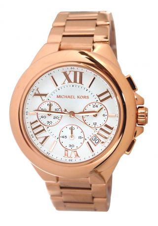 Michael Kors Mk5757 Armbanduhr Damenuhr Roségold Ovp Bild