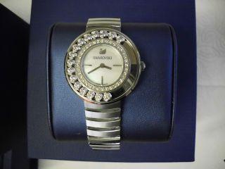 Edle Swarovski Lovely Crystals - White,  Metal Armbanduhr Damen Armband Uhr Bild