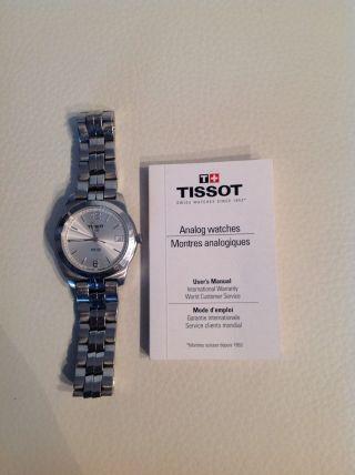 Tissot Herren Armbanduhr Uhr - Pr 50 Silber Bild