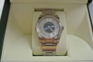 Rolex Oyster Perpetual Referenz 116000 Stahl,  Top,  Box,  Papiere Bild