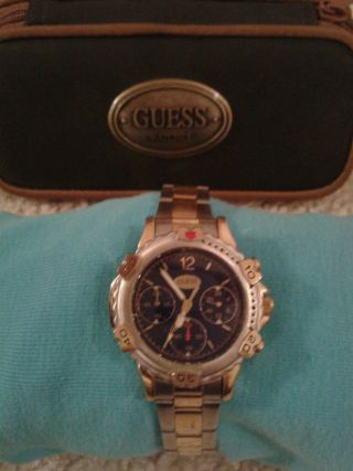 Guess Herren Armbanduhr Chronograph Bild