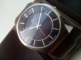 Skagen Designs 833xlsln Armbanduhr Uhr Für Herren Solar Np 169€ Bild