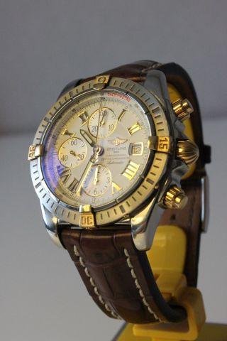 Breitling Chronomat Evolution Krokolederarmband B13356 Bild
