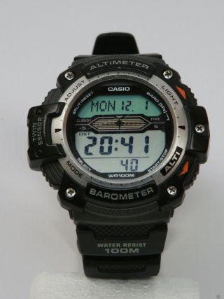 Casio Pro Trek Sgw - 300h - 1aver Armbanduhr Für Herren Bild