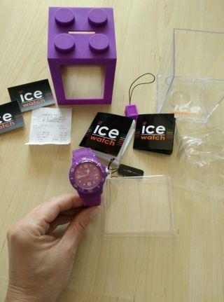 Ice Watch Uhr Mit Datum Wie Selten Getragen Si.  Pe.  S.  S.  09 Bild