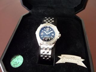 Breitling Windrider Stahl Ref.  A71365 Chronometer Neuwertige Damenuhr Bild