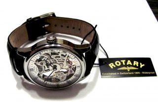 Rotary,  Mechanische Uhr - Handaufzug,  Skelettuhr, Bild