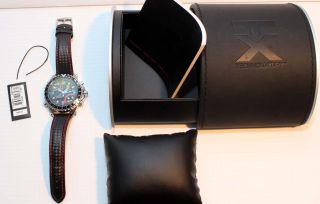 Timex Herrenarmbanduhr Flyback Chronograph Kompass 2.  Zeitzone 45 Mm Neuw.  In Ovp Bild