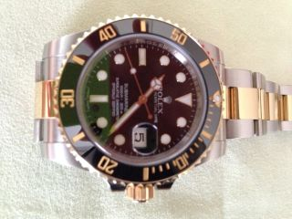 Rolex Oyster Perpetual Submariner Stahl/gold Bild