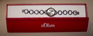 S.  Oliver So1587mq Armbanduhr Für Damen - In Ovp Bild