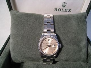 Rolex Ladies Oyster Perpetual Date (69240) Bild