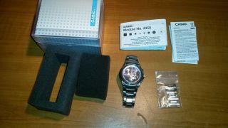 Casio Uhr Ef - 507 No.  4358 Edifice Herren Uhr Chronograph Bild