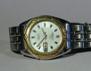 Seiko 5 Armbanduhr Retro Automatik Tag/datum Japan Bild