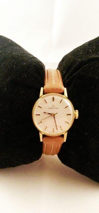 Certina Armbanduhr - Handaufzug - Vintage - Sammler Bild