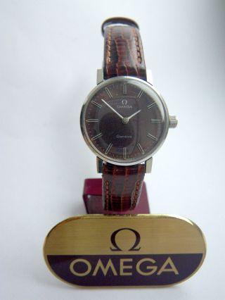 Vintage Omega Geneve Damenuhr Cal 620 Ladies Wristwatch Damenarmbanduhr Bild