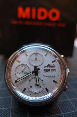 Mido Commander Automatic - Chronograph Valjoux 7750 Bild
