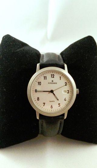 Junghans Armbanduhr - Quarz - Titanium - Sammler Bild