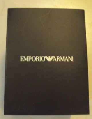 Emporio Armani Verpackung Bild
