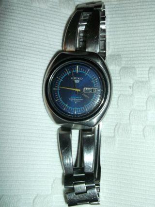Seiko 5 Sports Automatic Herrenarmbanduhr Water 70m Resist Armbanduhr Bild