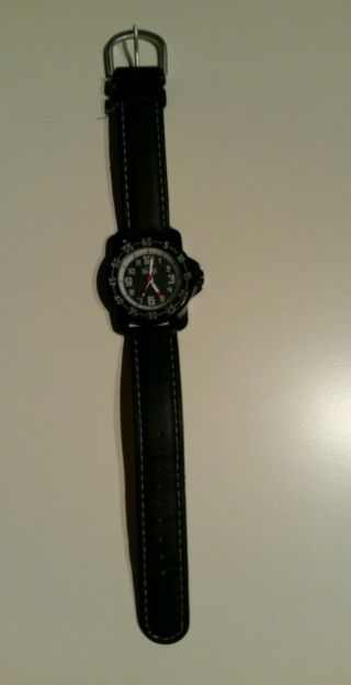 Scout Kinderuhr Schwarz Uhr Armbanduhr Jungs Kinder Bild